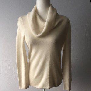 Apt. 9 100% Cashmere Cowl Neck Sweater Size S